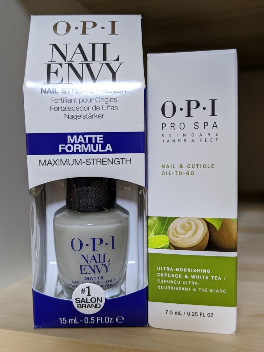 OPI エンビー マット & プロスパ ネイル キューティクル オイル トゥゴー Envy Matte & Oil To Go