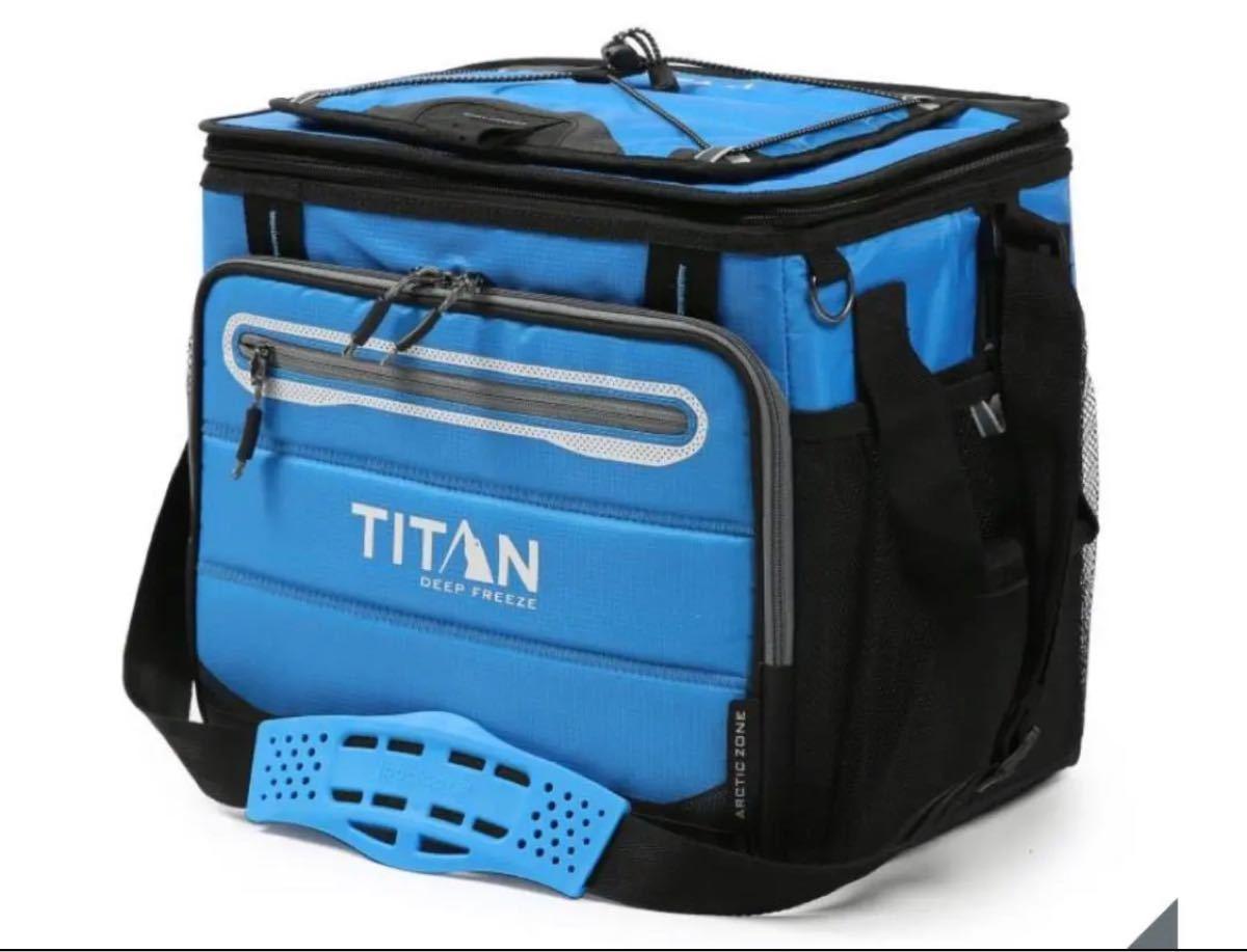 新品 タイタン クーラーバッグ 40缶 ブルー 保冷バッグ クーラーボックス