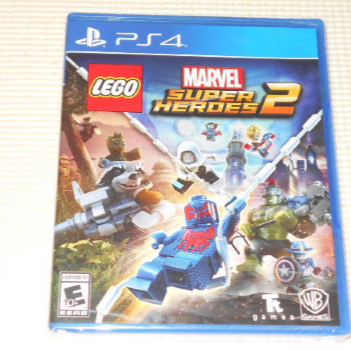 PS4★LEGO MARVEL SUPER HEROES 2 海外版(国内本体動作可能)★新品未開封
