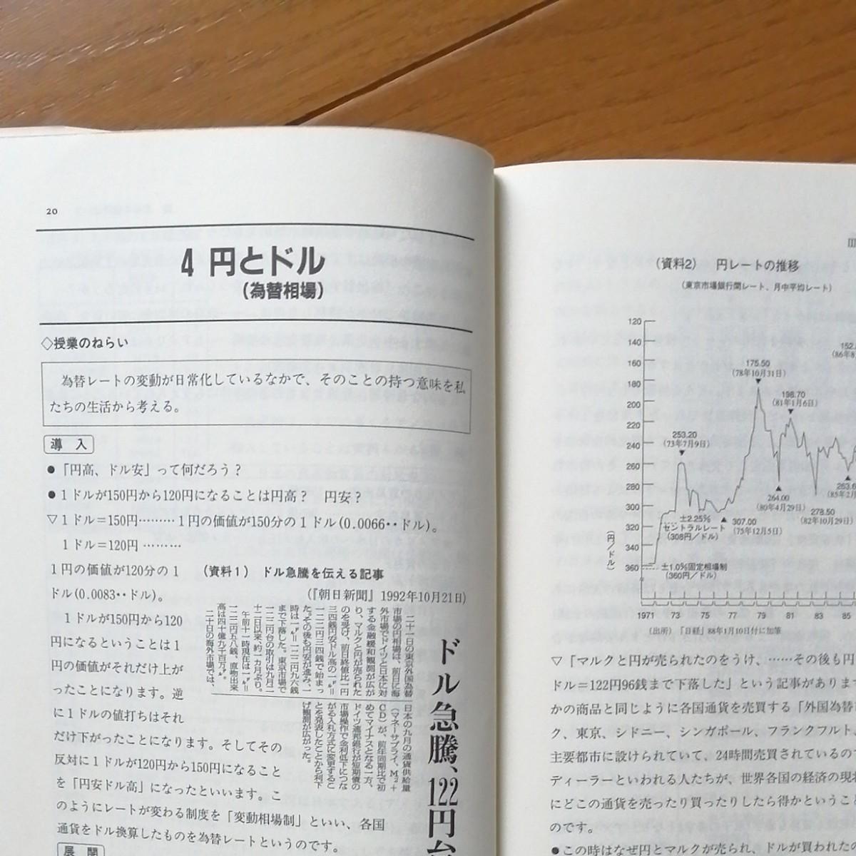 中学社会公民の授業 公民おもしろファックス資料集 培風館 四力