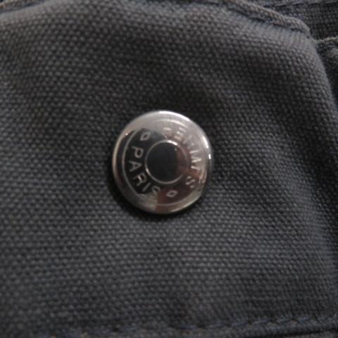 【即決】HERMES エルメス トートバッグ フールトゥMM キャンバス グレー系 ユニセックス ハンドバッグ フランス製 [W2967]_画像6