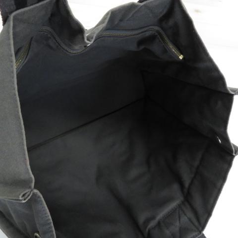 【即決】HERMES エルメス トートバッグ フールトゥMM キャンバス グレー系 ユニセックス ハンドバッグ フランス製 [W2967]_画像7