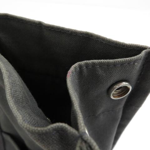 【即決】HERMES エルメス トートバッグ フールトゥMM キャンバス グレー系 ユニセックス ハンドバッグ フランス製 [W2967]_色褪せ・若干汚れ有り