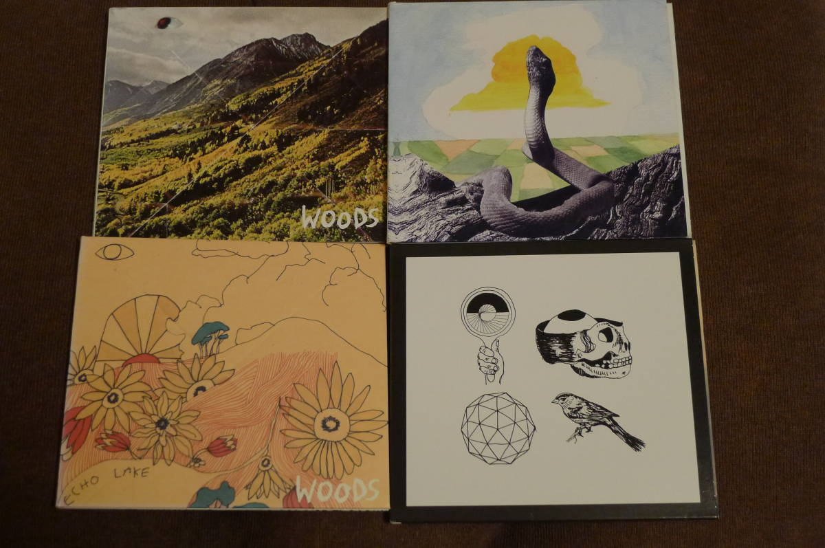 Woods アルバム4枚セット Songs Of Shame, At Echo Lake, Bend Beyond, With Light And With Love /ローファイ サイケフォーク Real Estate