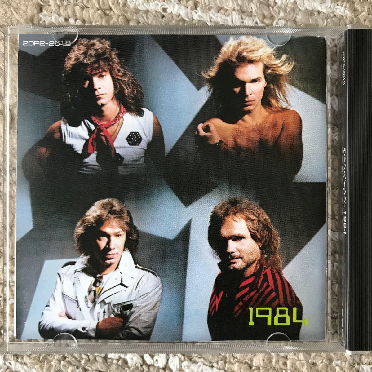 CD VAN HALEN 1984