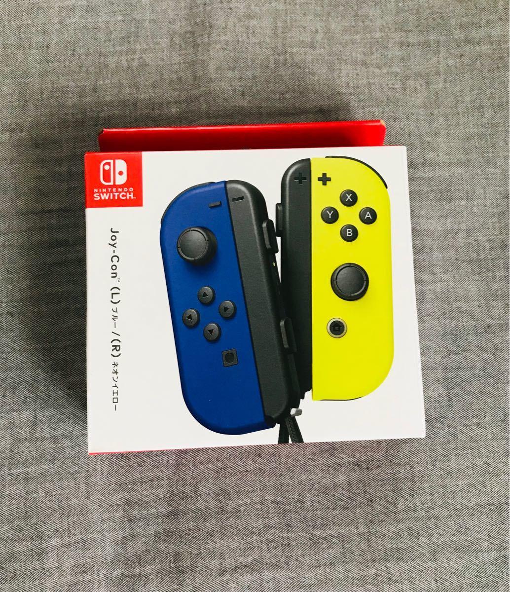 新品未使用品 Nintendo Joy-Con ブルー/ネオンイエロー ジョイコン 正規品 Nintendo Switch 任天堂