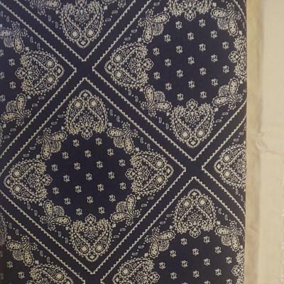 セブンベリー オックス生地 ペイズリー柄 バンダナ柄 生地巾約110cm×50cm