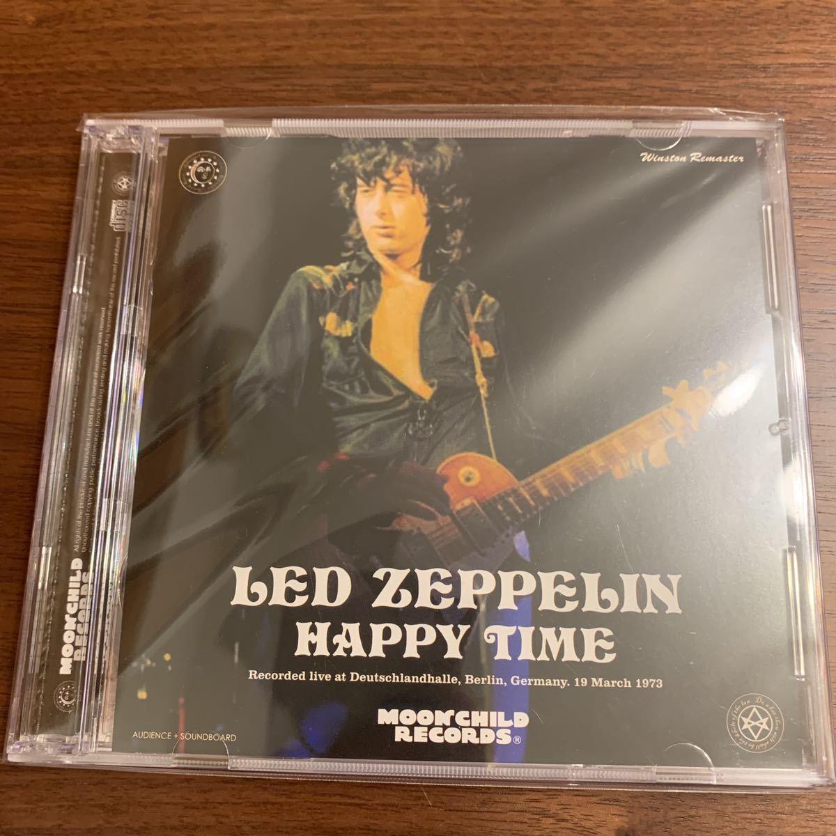 Moonchild Records 2CD Led Zeppelin Happy Time 1973★レッド・ツェッペリン