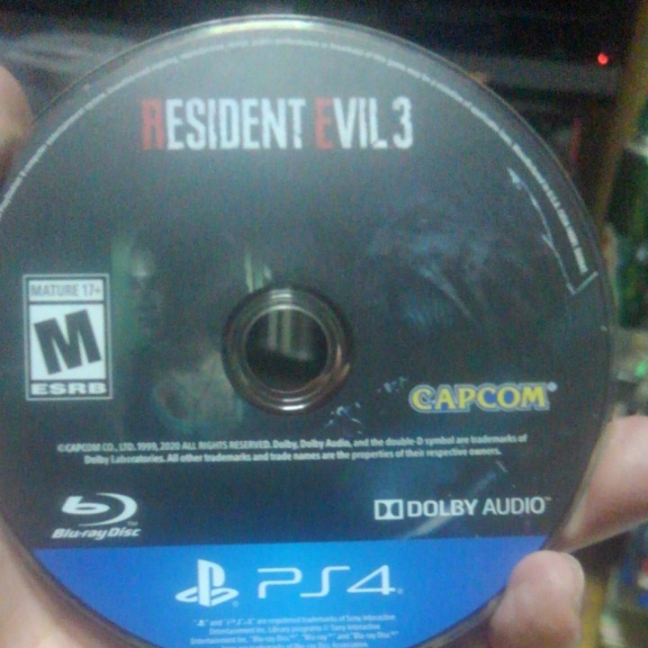 北米版 RESIDENT EVIL 3  PS4ソフト