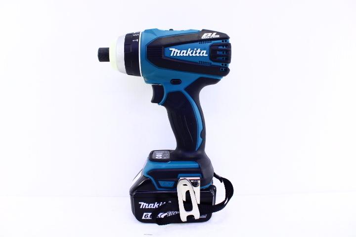 ●makita マキタ TP141D 充電式4モードインパクトドライバ 18V 電動工具【10654442】_画像2