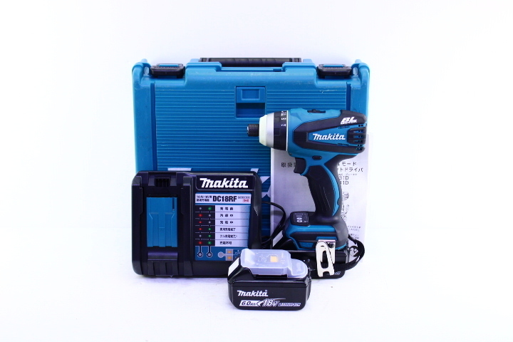 ●makita マキタ TP141D 充電式4モードインパクトドライバ 18V 電動工具【10654442】_画像1
