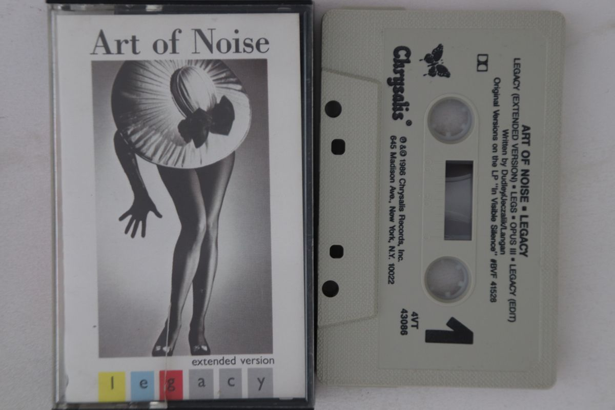 米Cassette Art Of Noise Legacy 4VT43086 CHRYSALIS プロモ /00110_画像1