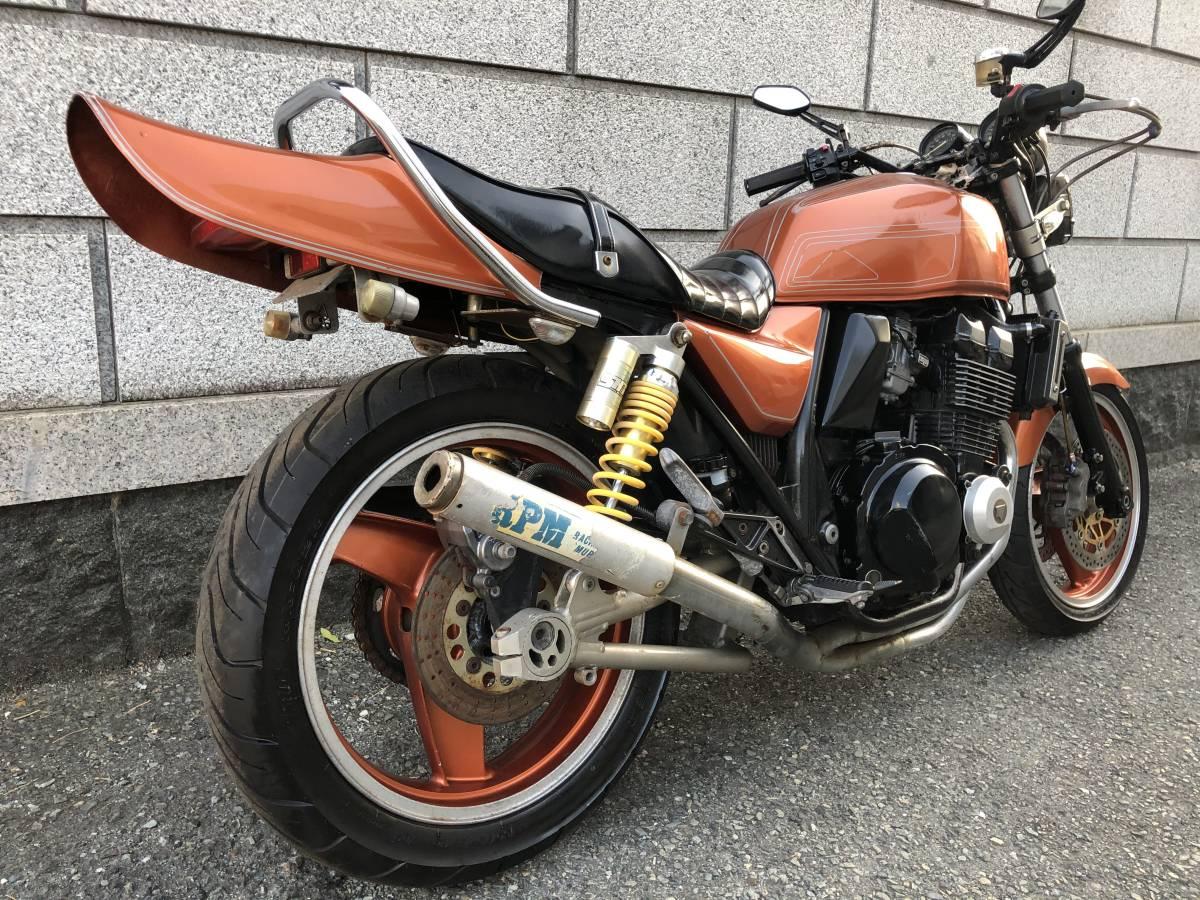 「H11年 ZRX400 カスタム RPM菅マフラー」の画像3