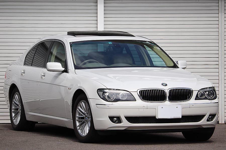 「【 走行6万k / 後期モデル 】2006y BMW 750i コンフォートPKG ベージュインテリア スマートキー」の画像1