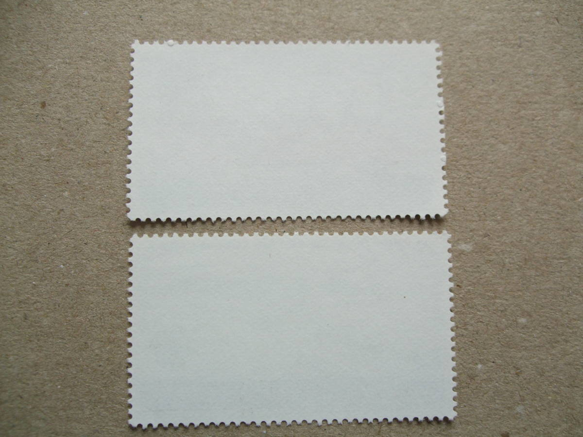 スペイン 1988年 ヨーロッパ切手 2種完 未使用美品_画像2