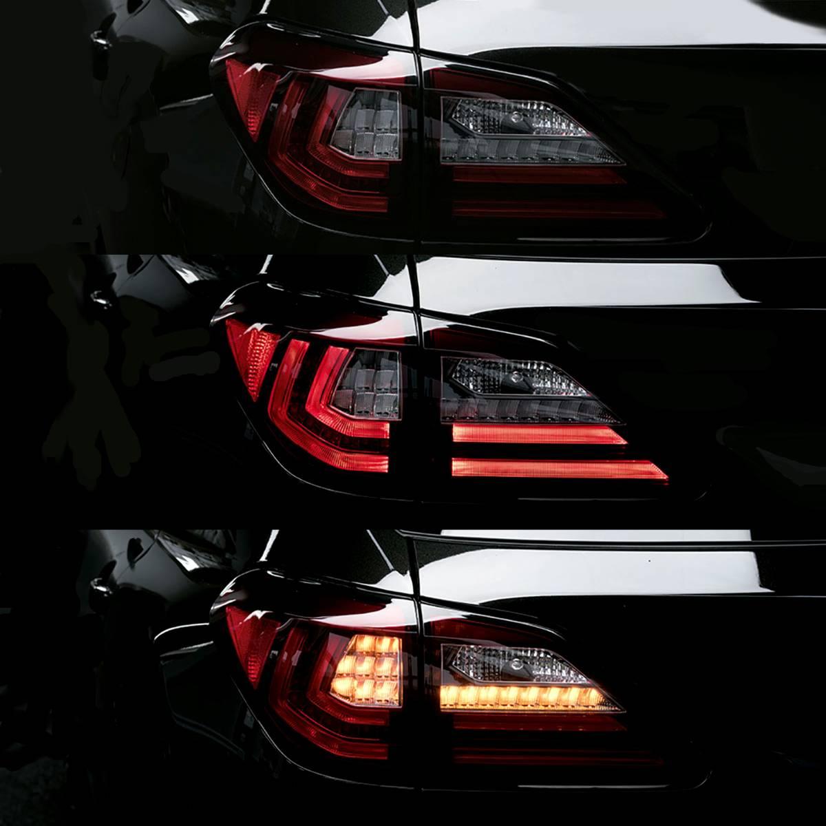 レクサス RX 10系用 20系仕様 流れるウィンカー テール シーケンシャルウィンカー lexus AGL10 GGL10 GGL15 GYL10 GYL15 GYL16 CONSERX_画像2