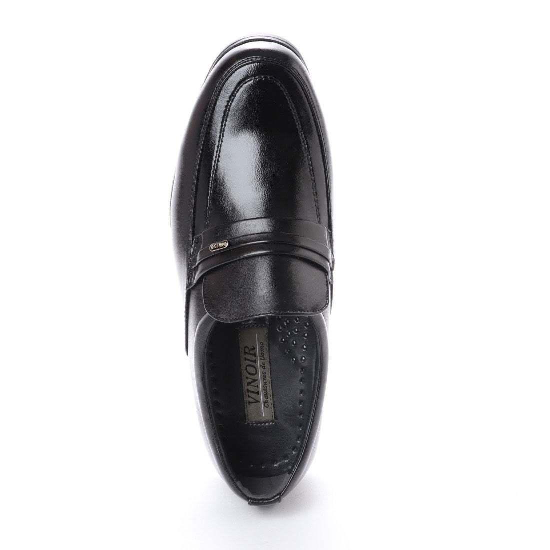 【安い】 超軽量 紳士靴 メンズ ビジネスシューズ スリッポン ウォーキングシューズ 幅広 4E 抗菌 防臭 1013 ブラック 黒 26.5cm
