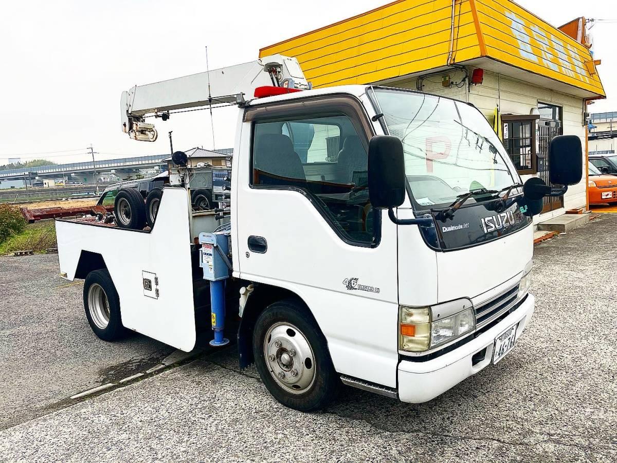 「最終 値下げ 大阪より 走行10万km いすゞ エルフ レッカー車 レッカー トーイングに」の画像2
