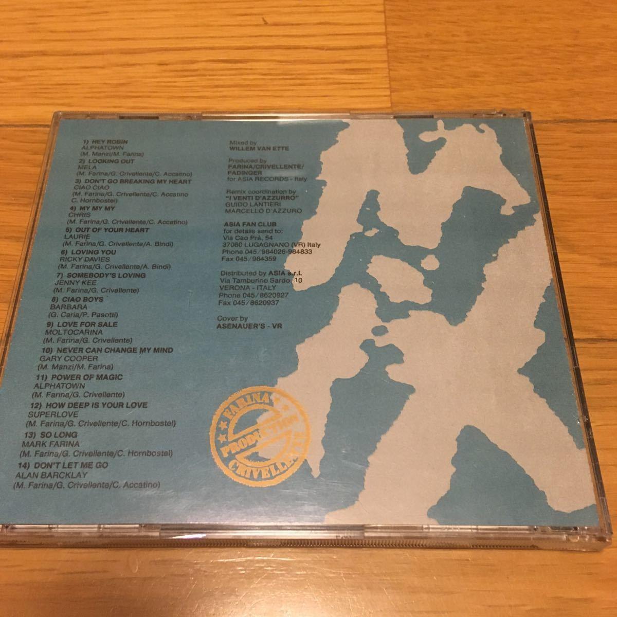 ネコポス送料無料☆BAT'S Eurobeat vol.1 WHERES・ROBIN・MIX☆バッツ ユーロビート vol.1☆イタリアASIAレーベル☆希少盤_画像2