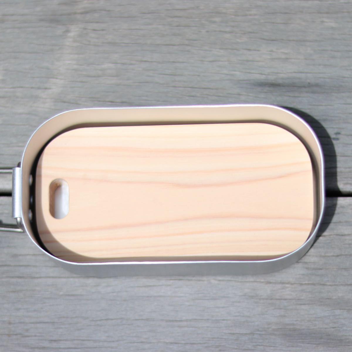 DAISO ダイソー メスティン用 国産ヒノキまな板 ひのき桧