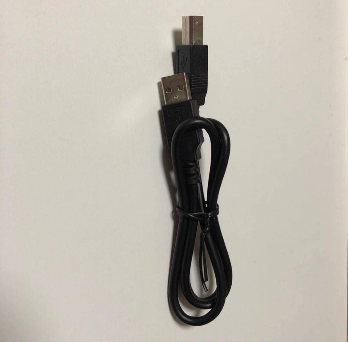 ☆送料込☆ 値下げ 未使用 USBケーブル USB 2.0 タイプAオス - タイプBオス データ転送 ●クーポン利用可●