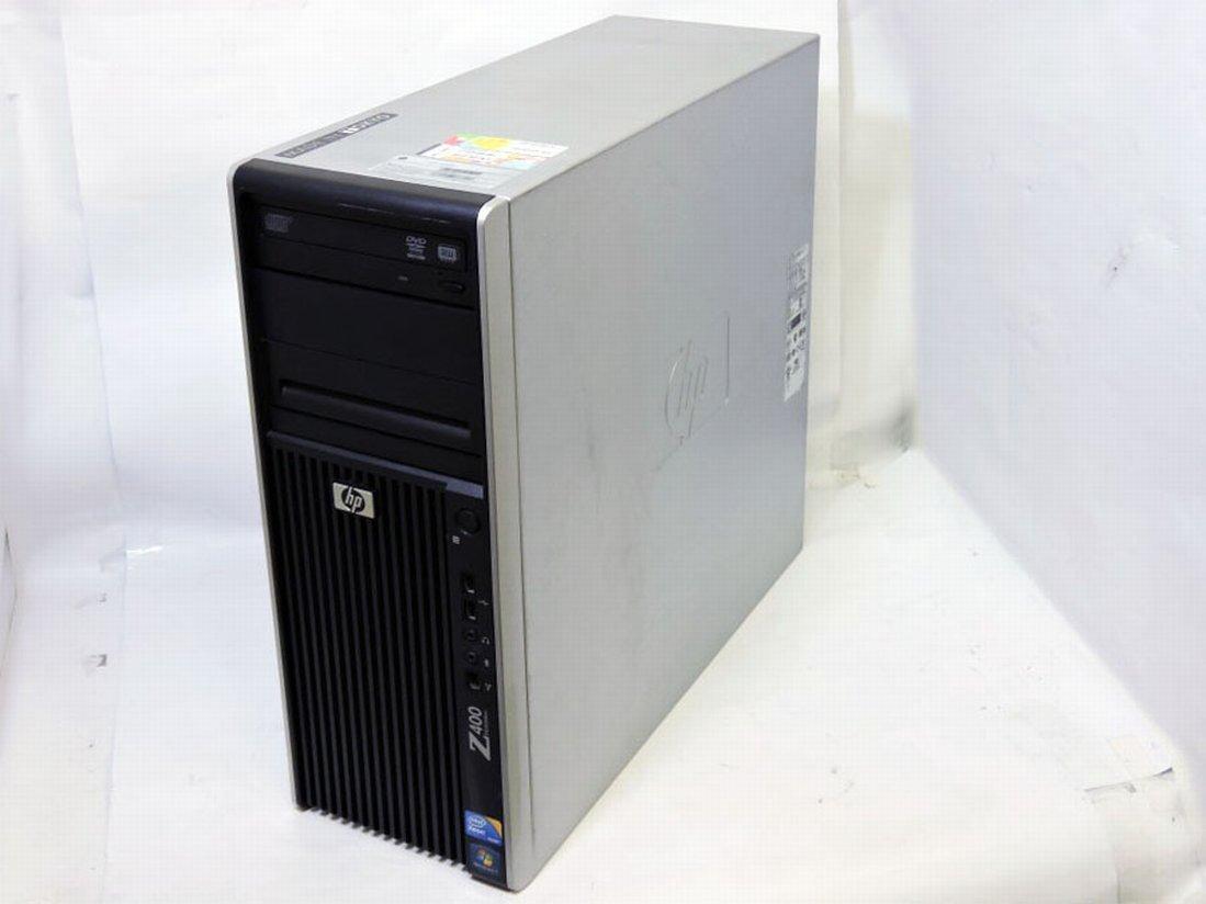 即日発送 中古美品 HP WorkStation z400 / Win10/ Xeon W3565/ 24GB/ HDD-(1TB+250G)/ NVIDIA Quadro 4000/ Office付/ 中古パソコン/ 税無_画像1