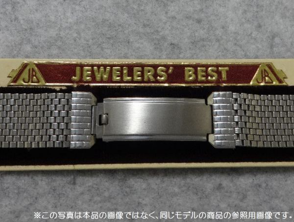 19㎜ シルバー 直かん / デッドストック 1930-40's JB Champion アンティーク ジェービー SS 9連 メッシュ ブレス / ROLEX OMEGA 用に!_画像9