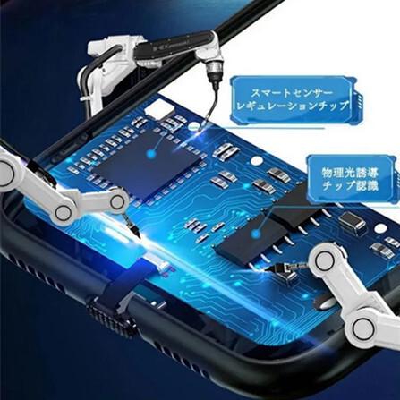 送料0円 当日発送 iPhoneXR/11 Pro Max 強化ガラス 着信 光るケース【音楽、着信で光る】人工知能 落札後サイズを教えて下さい_画像5