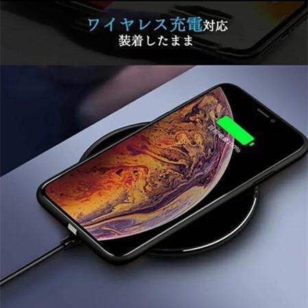 送料0円 当日発送 iPhoneXR/11 Pro Max 強化ガラス 着信 光るケース【音楽、着信で光る】人工知能 落札後サイズを教えて下さい_画像6