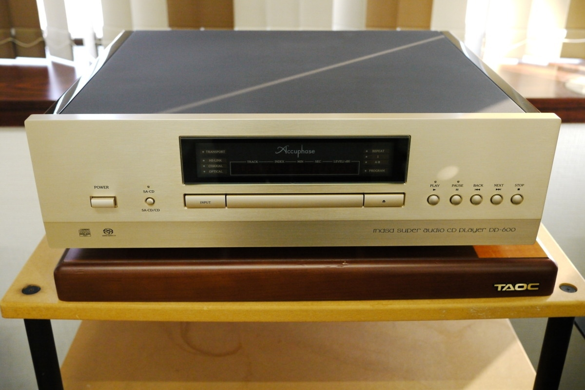 在庫処分 Accuphase DP-600 CDプレーヤー アキュフェーズ_画像1