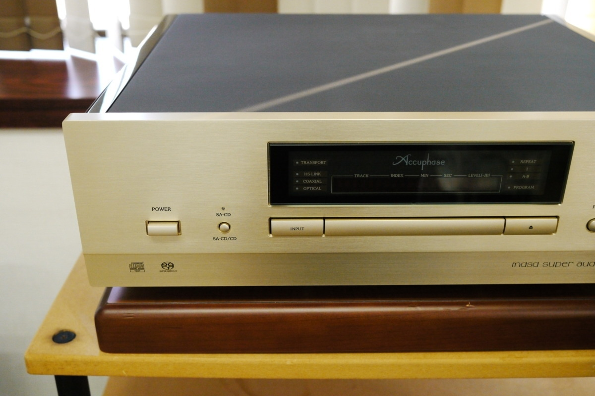 在庫処分 Accuphase DP-600 CDプレーヤー アキュフェーズ_画像2