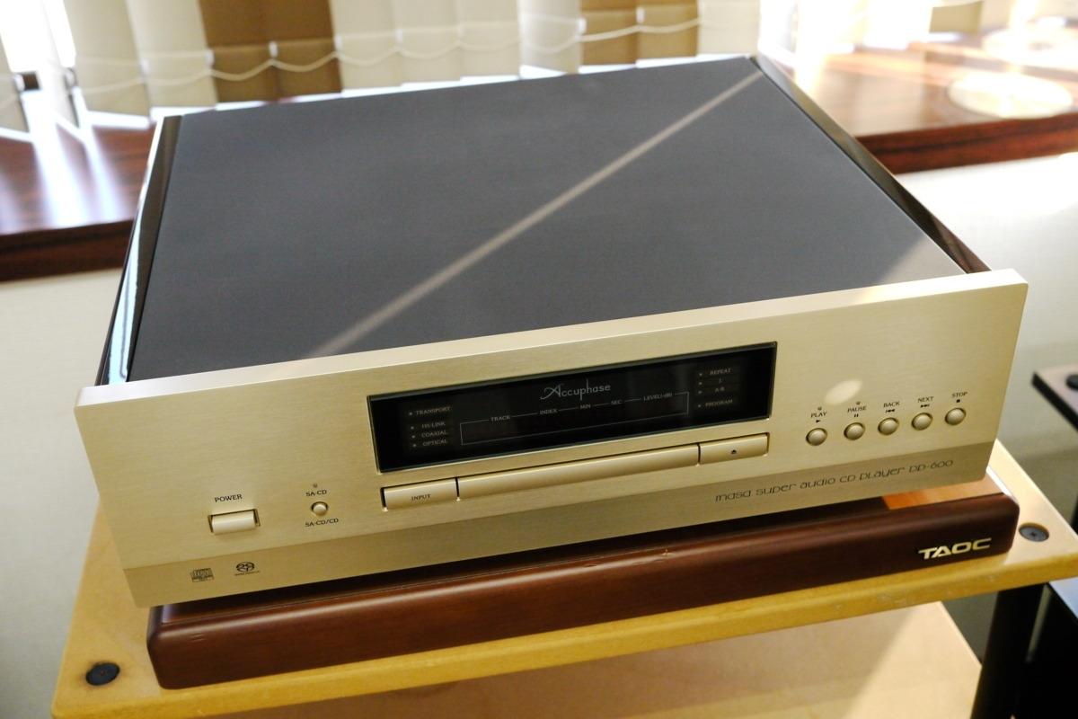 在庫処分 Accuphase DP-600 CDプレーヤー アキュフェーズ_画像4