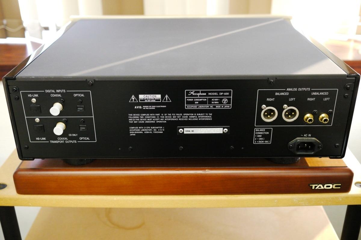 在庫処分 Accuphase DP-600 CDプレーヤー アキュフェーズ_画像7