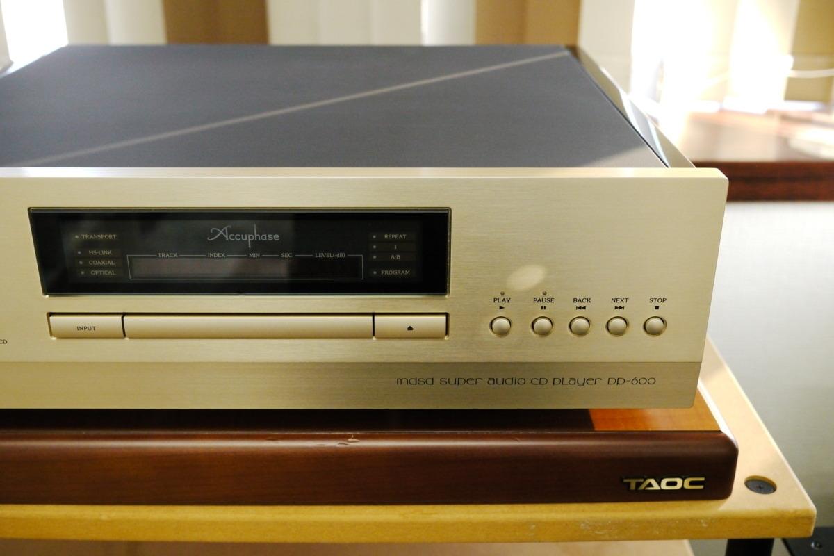 在庫処分 Accuphase DP-600 CDプレーヤー アキュフェーズ_画像3