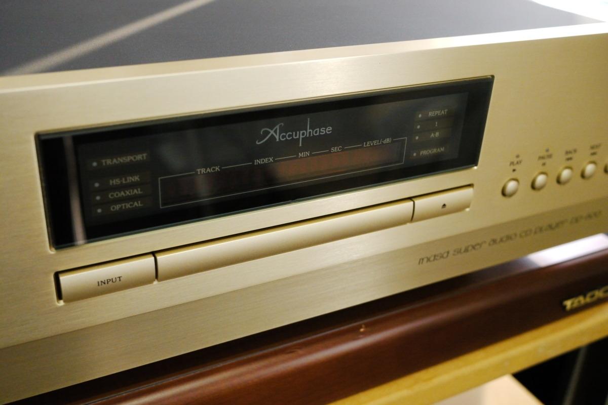 在庫処分 Accuphase DP-600 CDプレーヤー アキュフェーズ_画像6