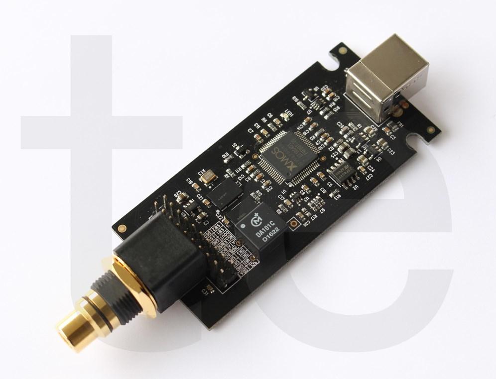 XMOS XU208 同軸デジタル S/PDIF DoP方式 I2S DSDnative対応 USB DDC PCM384K AK4499EQ ES9038PRO D/AコンバーターUSB DAC 外付け自作用_画像1
