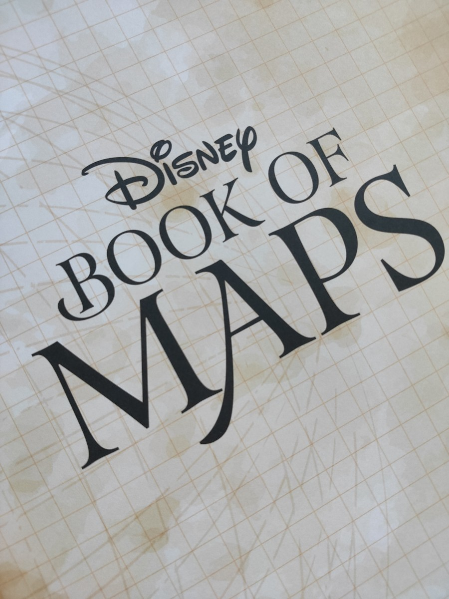 ディズニー 洋書 絵本 ピクサー プリンセス Disney 英語 英語学習 BOOK OF MAPS  英語絵本