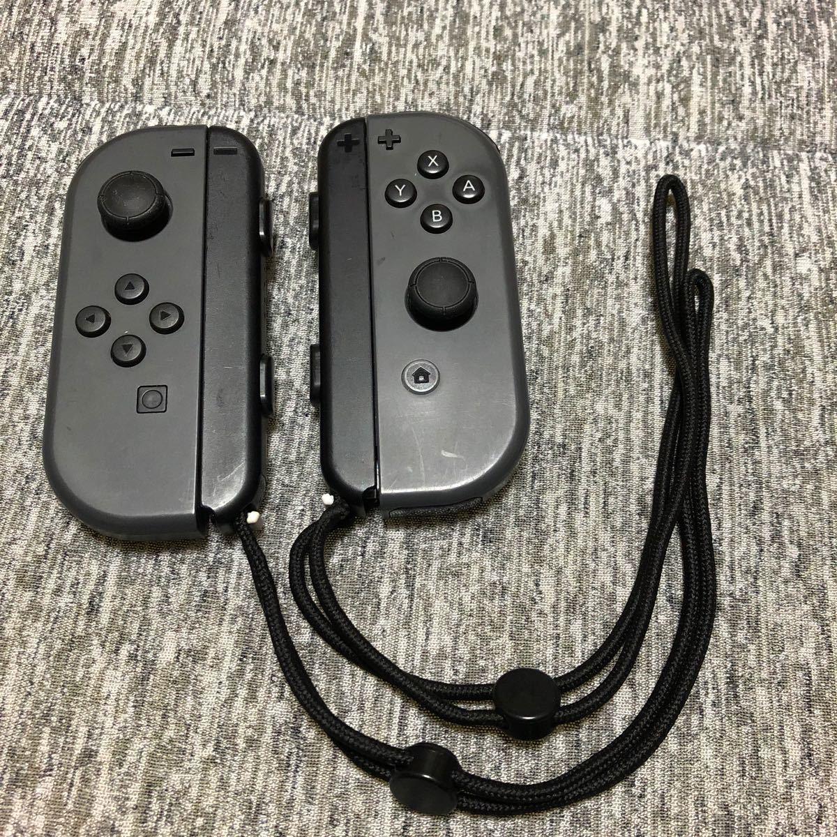 Nintendo Switch ニンテンドースイッチ ジョイコン Joy-Con グレー