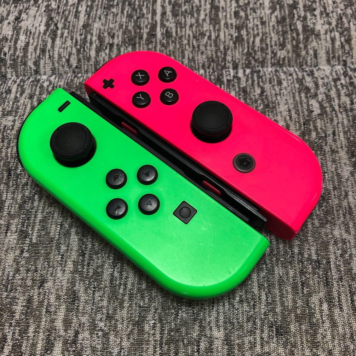 Nintendo Switch ニンテンドースイッチジョイコン ネオングリーン ネオンピンク