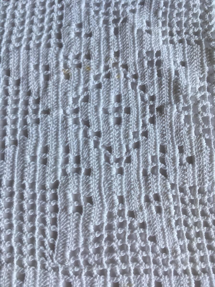 レース テーブルセンター ハンドメイド 手編み 手作り マット テーブルクロス ランナー ドイリー ランチョンマット