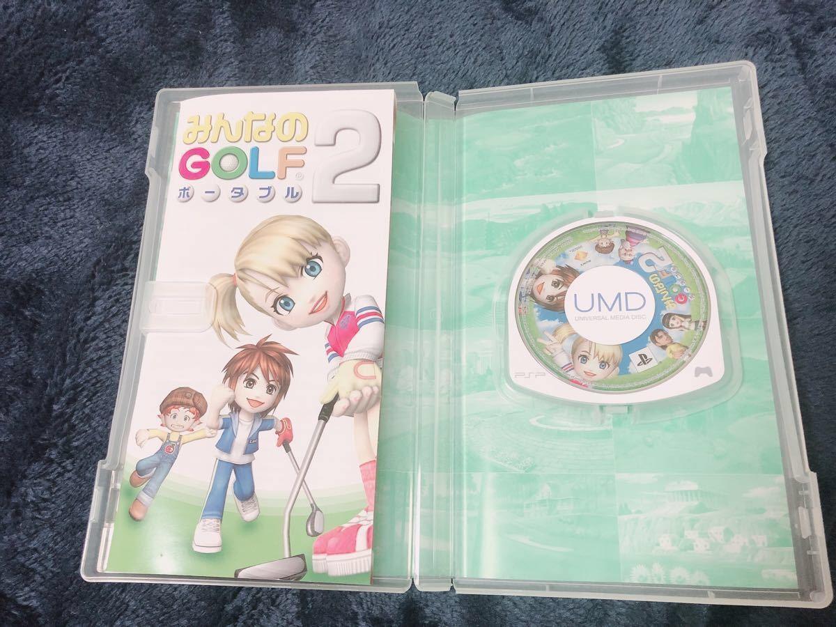 PSPソフト☆ みんなのGOLF2ポータブルthe Best