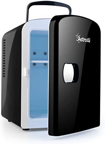 03ブラック AstroAI 冷蔵庫 小型 ミニ冷蔵庫 小型冷蔵庫 冷温庫 保温 冷温庫 4L 小型でポータブル 化粧品 家庭 _画像1