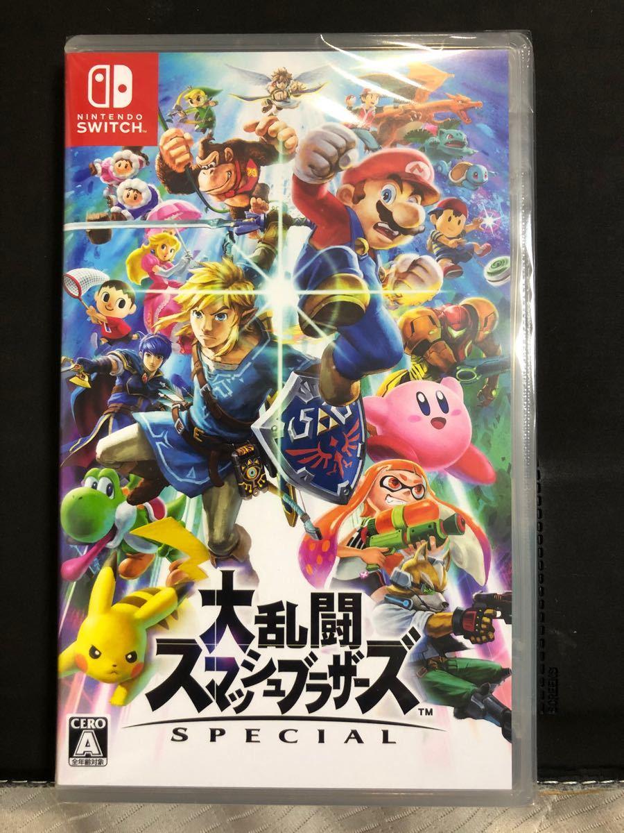 【新品未開封】 Nintendo Switch 大乱闘スマッシュブラザーズSPECIAL スマブラSP