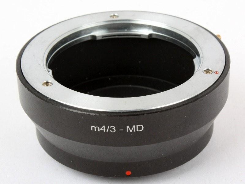 マウントアダプターミノルタ MINOLTA MDマウント―OLYMPUS M4/3マウント_画像1