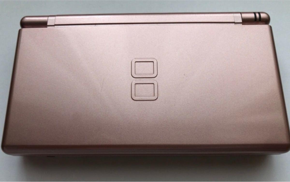 ニンテンドーDS Lite (メタリックロゼ) ソフト5点セット