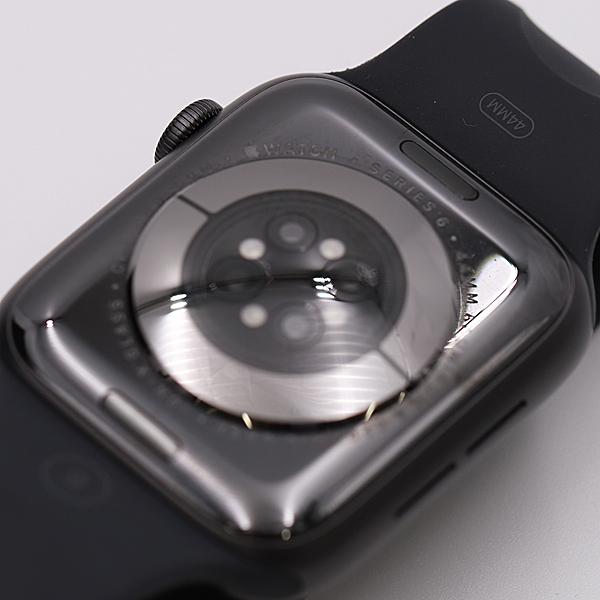 1円★正規 外観美品【アップルウォッチ】シリーズ6 44MM スマートウォッチ メンズ腕時計 箱付き A0063137_画像5
