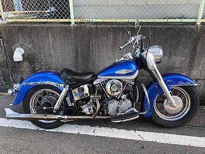 「1966年 アーリーショベル EARLY SHOVEL 1966年式のファーストイヤーアーリーショベルなのでレアバイクです ジェネレーターショベル 」の画像1