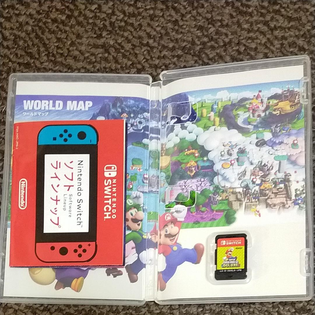 NewスーパーマリオブラザーズU DELUXE Nintendo Switch スイッチソフト