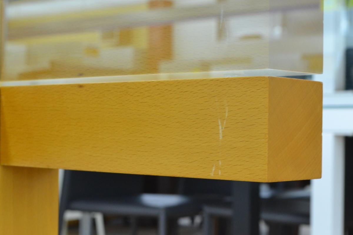 h708■Cassina ixc カッシーナイクスシー■ダイニングテーブル 5点セット■天板 直径Φ約1200mm_画像5