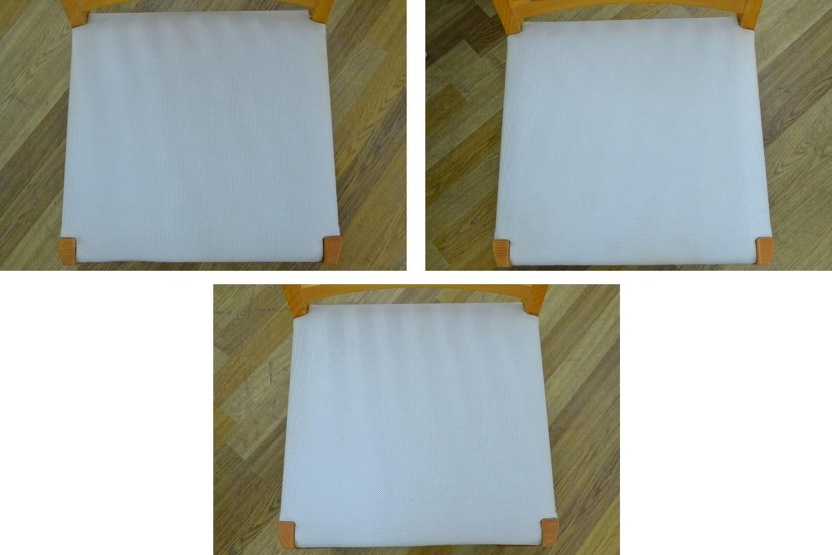 h708■Cassina ixc カッシーナイクスシー■ダイニングテーブル 5点セット■天板 直径Φ約1200mm_画像8
